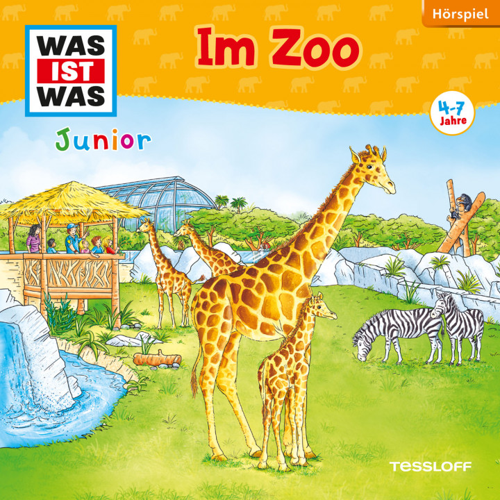 Was Ist Was Junior Im Zoo Cover