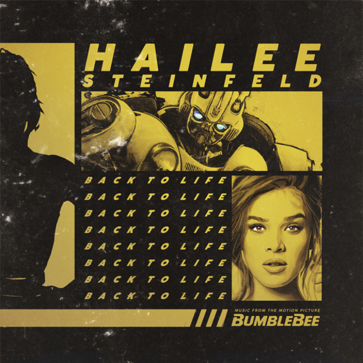 Hailee Steinfeld - Back To Life Single Cover