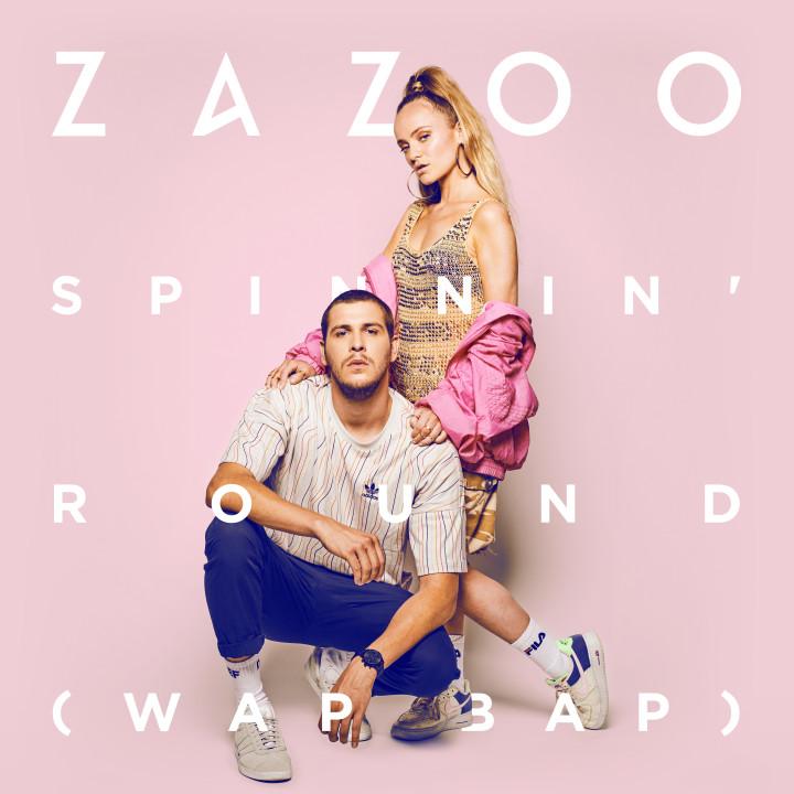 Zazoo - Spinnin Round Single Cover