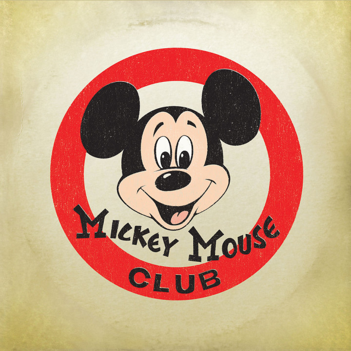 Mickey Mouse March b/w Mickey Mouse Club Alma Mater