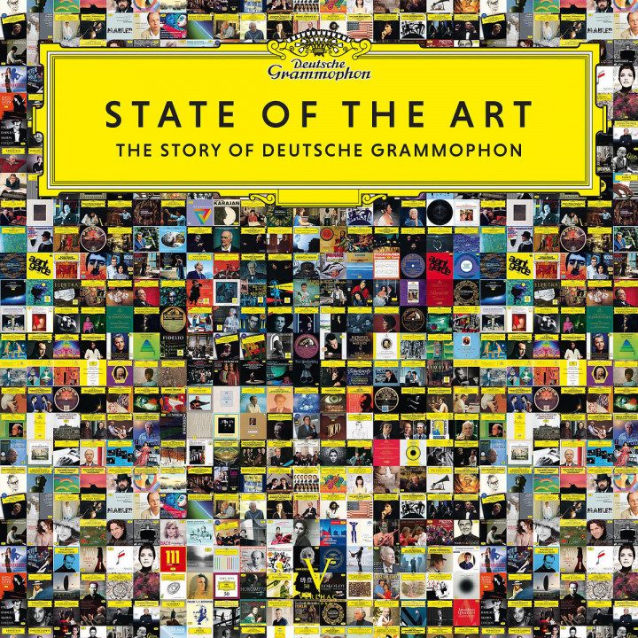 State of the Art: Vinyl + Buch (Deutsch/Englisch)