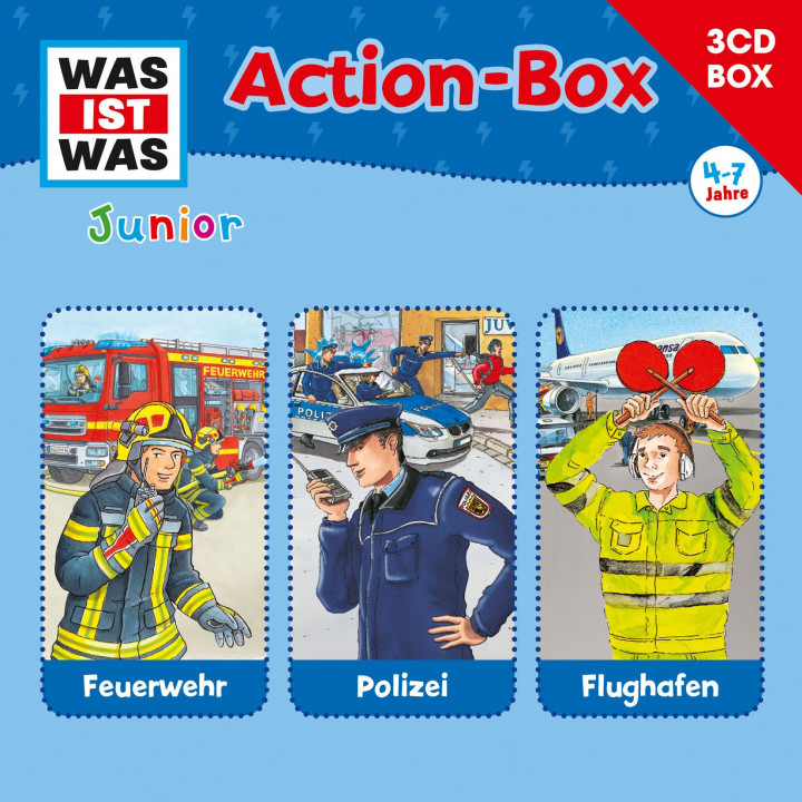 Was Ist Was Junior - Actionbox Cover Neu