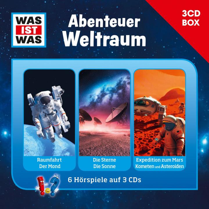 Was Ist Was - Abenteuer Weltraum Box Cover Neu