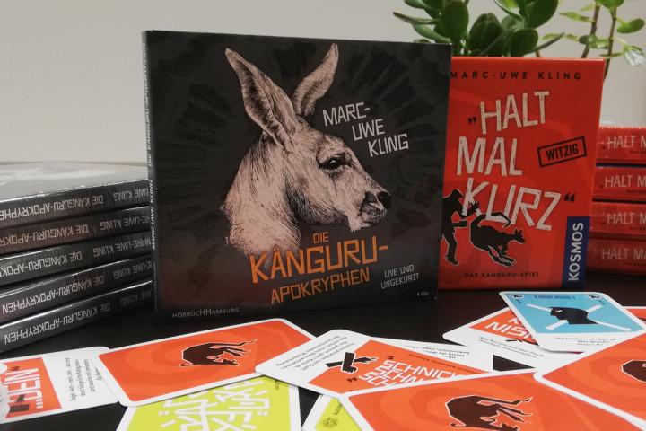 Känguru Marc Uwe Kling Gewinnspiel 2018