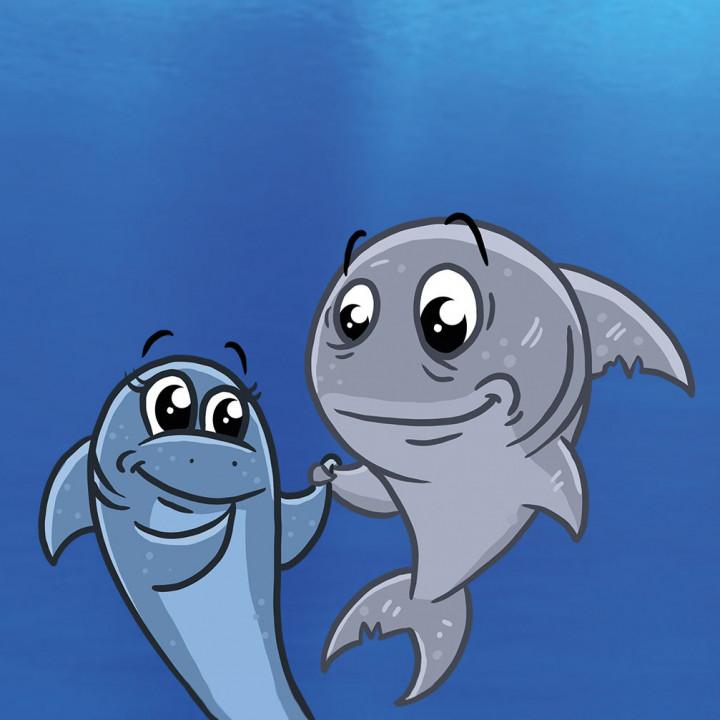Eltern Hainer der kleine Hai