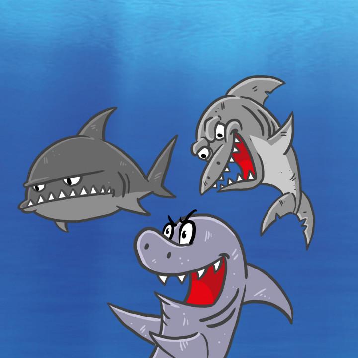 Gemeine Haie Hainer der kleine Hai