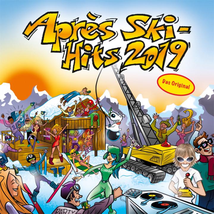 Après Ski Hits 2019 Cover
