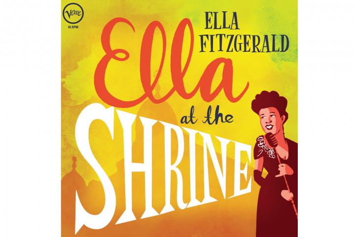 Ella Fitzgerald At The Shrine