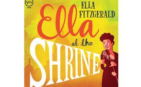 Ella Fitzgerald, Gelb, rund, limitiert - Ella-LP auf der Plattenladenwoche