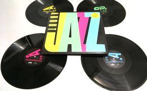 Various Artists, Gipfeltreffen auf dem Turntable - aboutJAZZ als 4-LP-Set