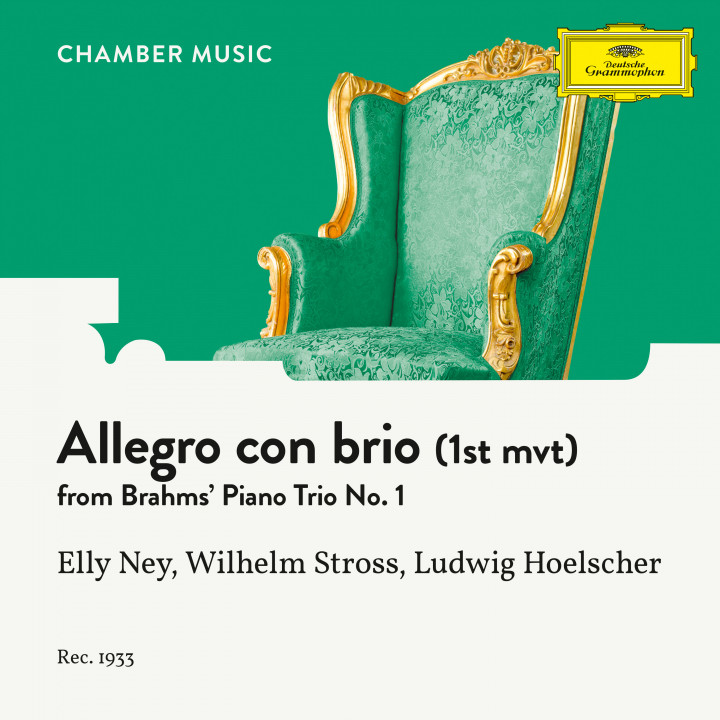 Brahms: Piano Trio No. 1 In B, Op. 8: I. Allegro con brio