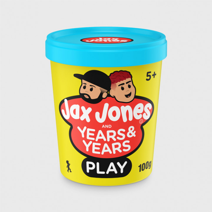 Jax Jones feat. Years & Years - Play Single Cover