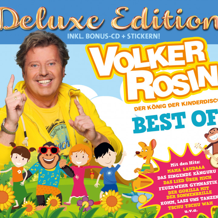 Cover Volker Rosin Best of Deluxe Edition neu