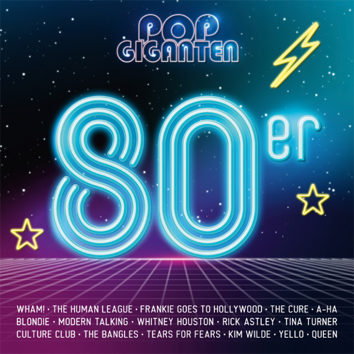 Pop Giganten: 80er Compilation Cover