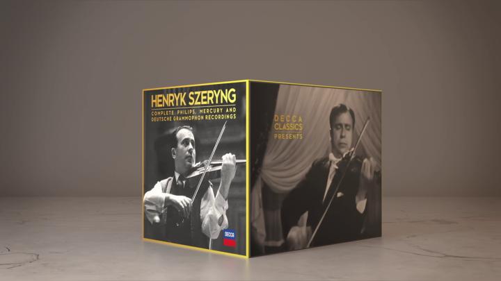 Henryk Szeryng - Complete Recordings (Trailer)