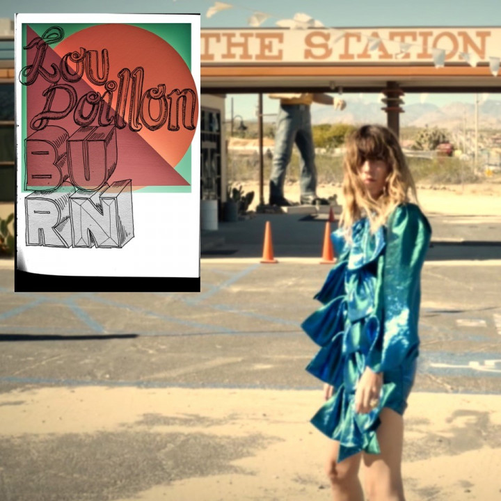 Lou Doillon Single Burn