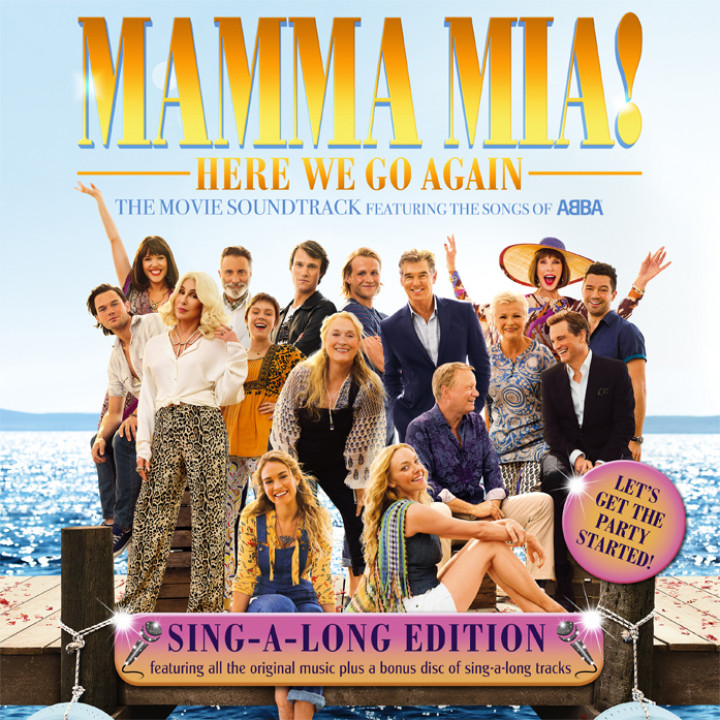Mamma Mia! Here We Go Again - Sing Along Edition Cover
