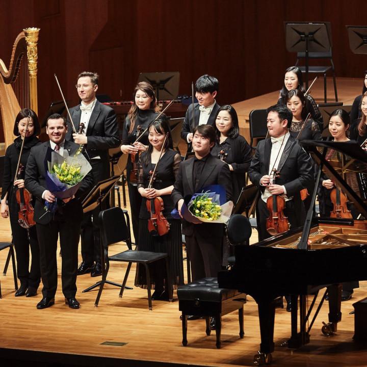 Lionel Bringuier, Seong-Jin Cho, Seoul Philharmonic Orchestra
