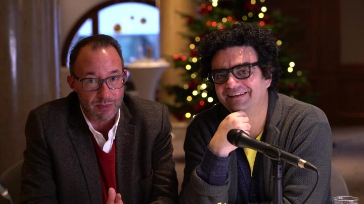 Rolando Villazón & Holger Wemhoff wünschen Frohe Weihnachten