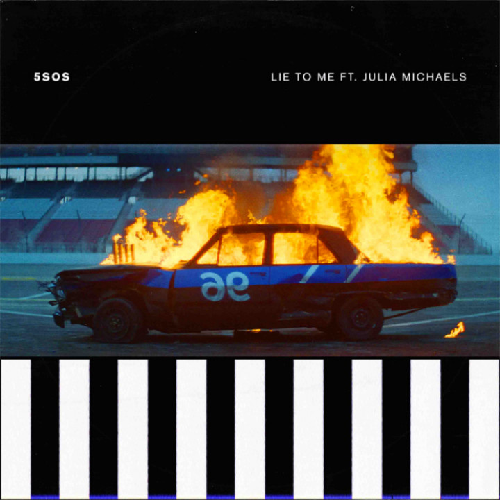 5 Seconds Of Summer feat. Julia Michaels - Lie To Me Single Cover