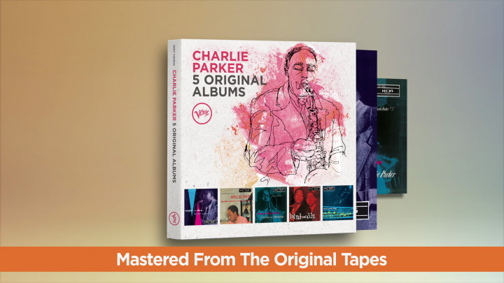 Charlie Parker - 5 Original Albums
