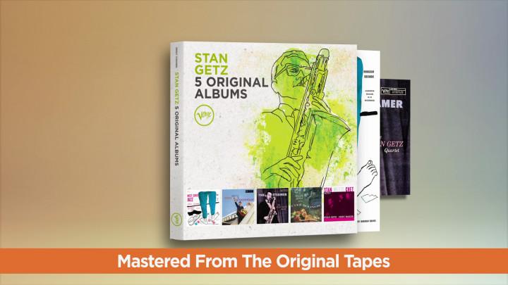 Stan Getz - 5 Original Albums