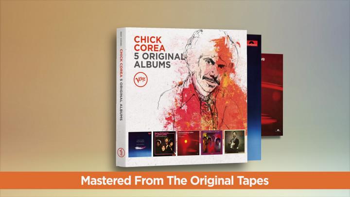 Chick Corea - 5 Original Albums