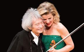 Anne-Sophie Mutter, Live-Mitschnitt des Tokyo-Galakonzerts mit Anne-Sophie Mutter und Seiji Ozawa krönt Jubiläumsjahr