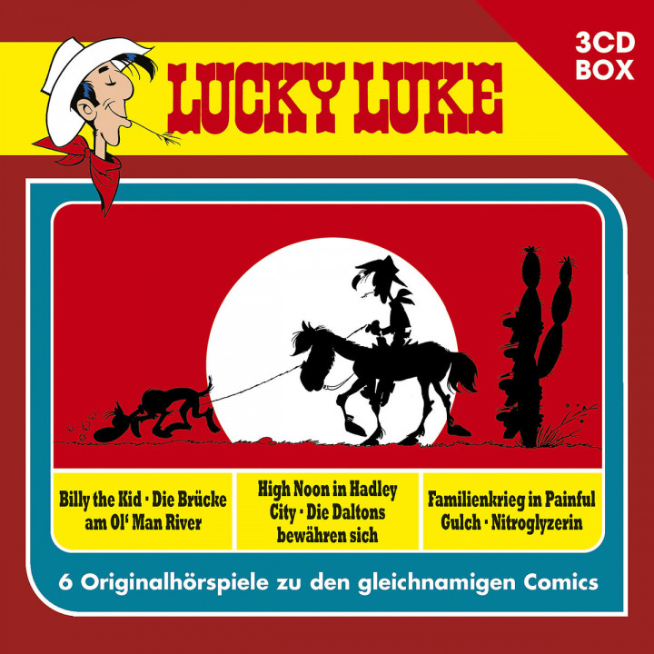 Lucky Luke - 3-CD Hörspielbox Vol. 2