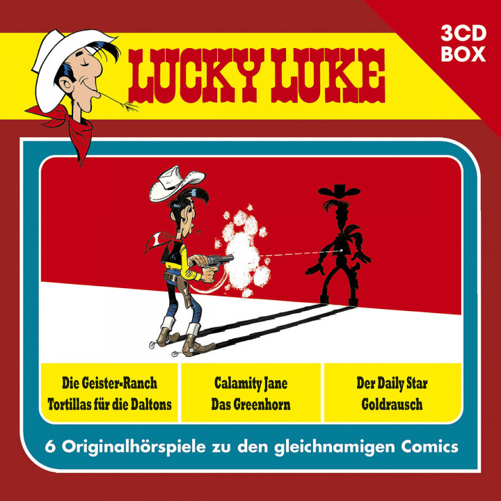 Lucky Luke - 3-CD Hörspielbox Vol. 1