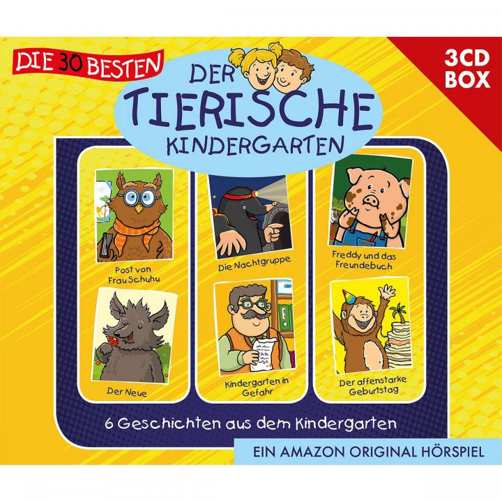 Der tierische Kindergarten 3-CD-Box Vol.1