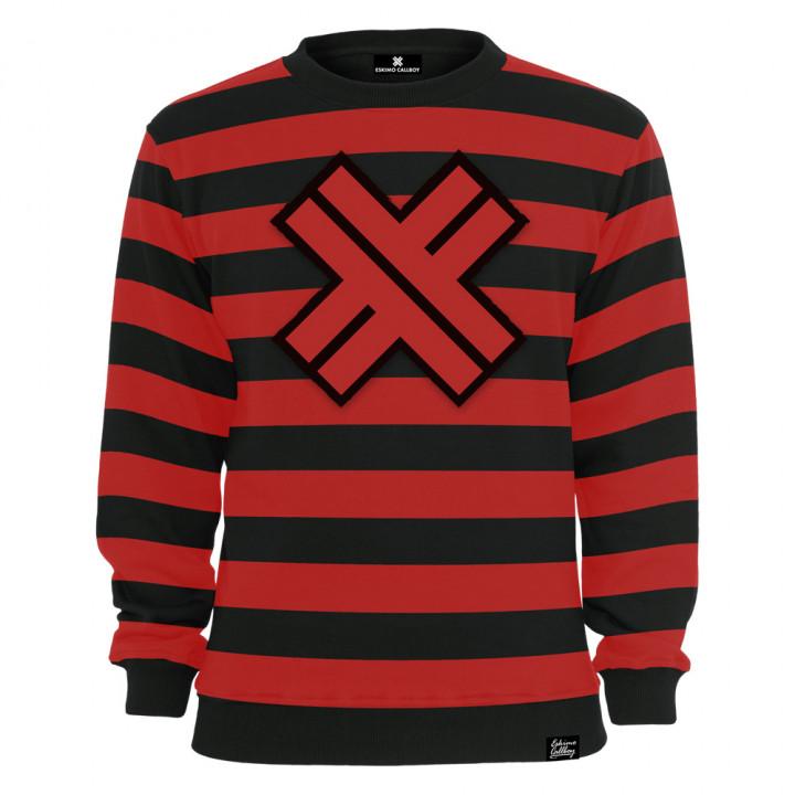 Striped X