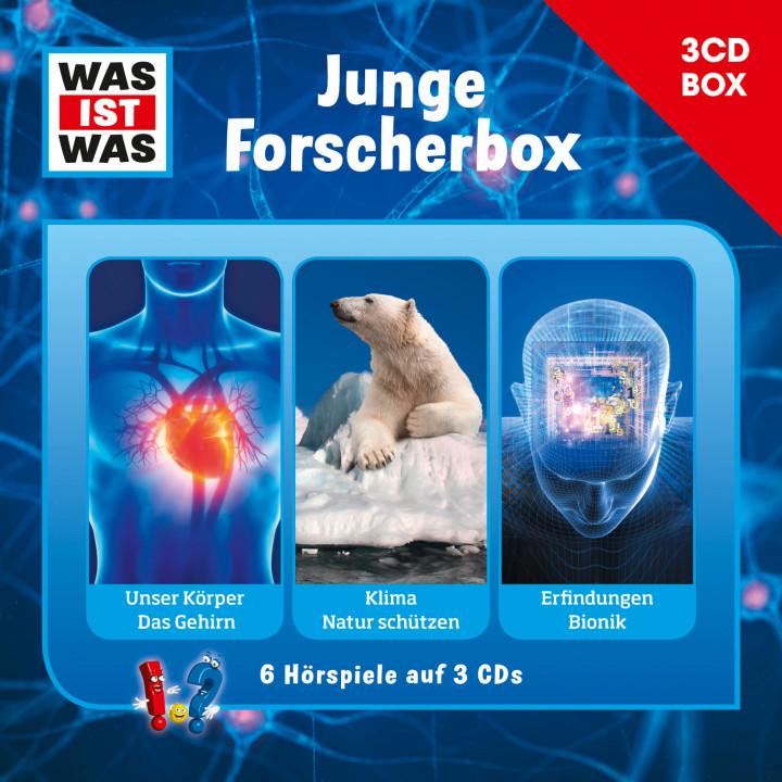 Was Ist Was 3-CD Hörspielbox Vol.4 - Junge Forscher-Box