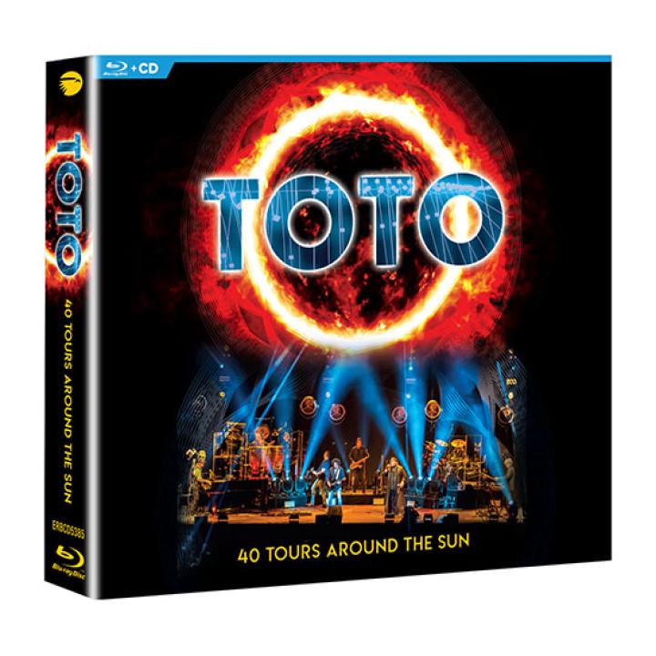 TOTO 2CD + Bluray