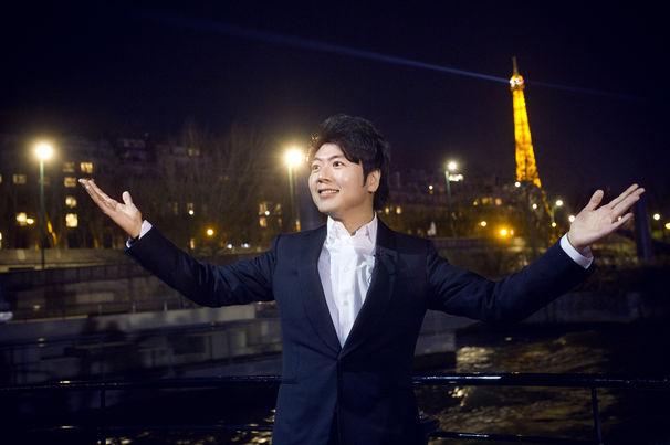 Lang Lang, Lang Lang präsentiert sein Album Piano Book in Paris