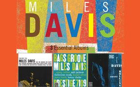 Miles Davis, 3 ESSENTIAL ALBUMS - Künstler-Anthologien für Schnäppchen-Jäger