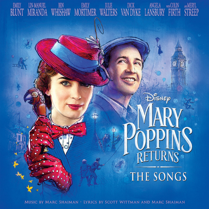marry poppins returns: the songs (LP)