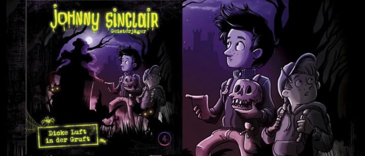 Johnny Sinclair: Dicke Luft in der Gruft - Teil 1 (Hörprobe)