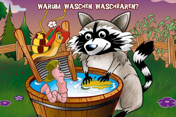 Monika Häuschen Warum waschen Waschbären Newsbild