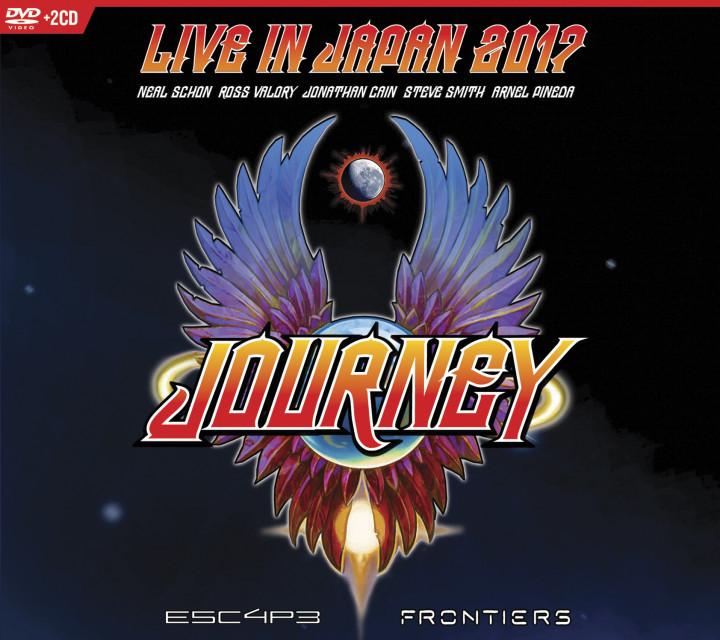 Journey Live In Japan DVD 2CD