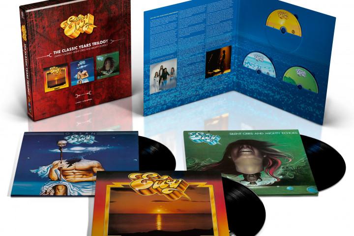 Eloy - The Classic Year Trilogy (3 CD + 3 Vinyl)