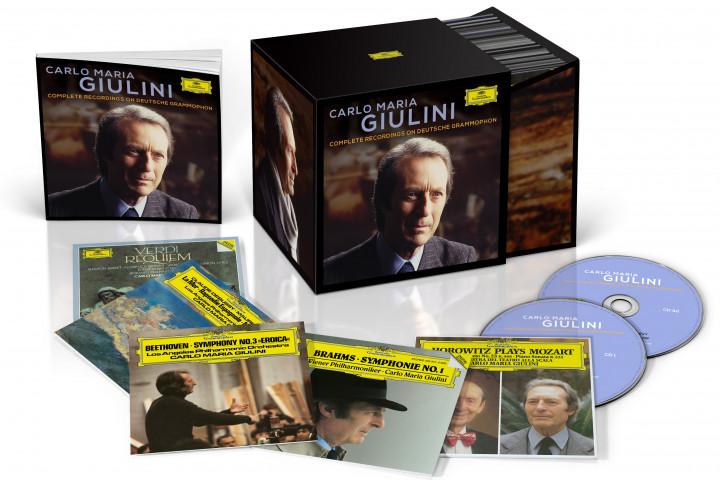 Carlo Maria Guilini Complete Recordings bei Deutsche Grammophon