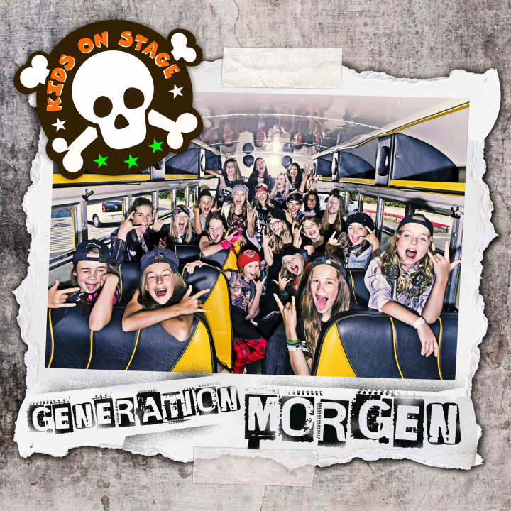 Generation Morgen Single Kids on Stage Cover