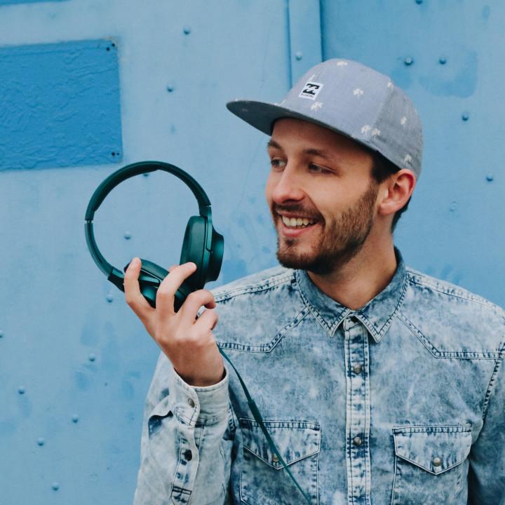 Nilsen Headphones das blaue album kopfhörer