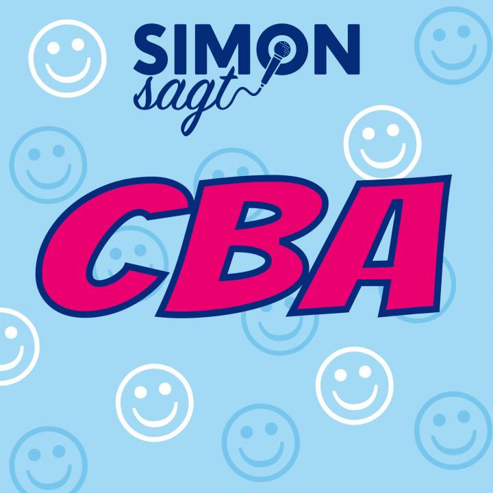 Simon sagt CBA Lyric Video Cover