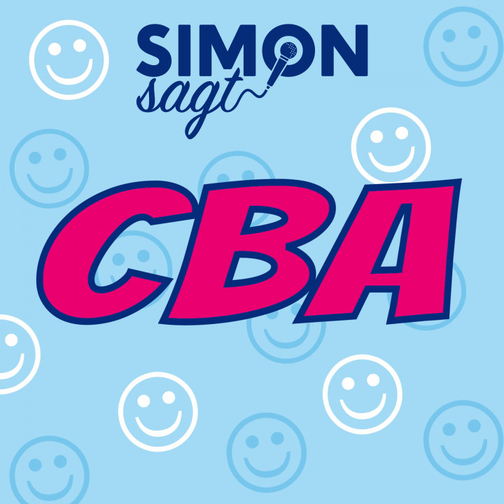 Simon sagt CBA Lyric Video Cover