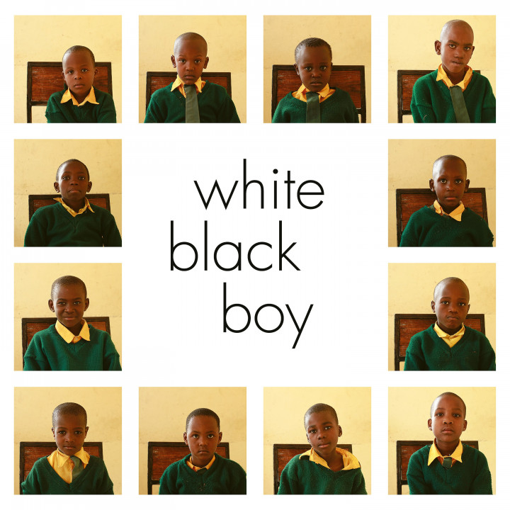 White Black Boy