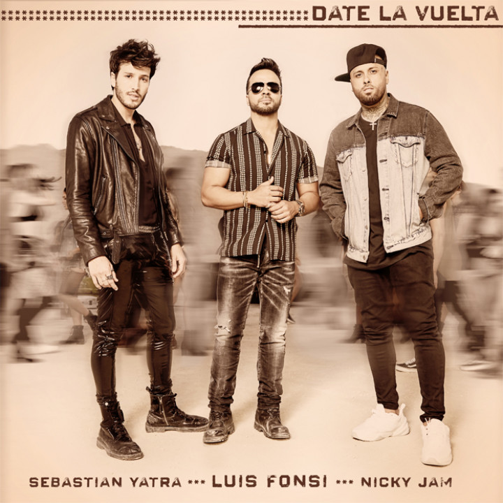 Luis Fonsi feat. Sebastian Yatra & Nicky Jam - Date La Vuelta Cover