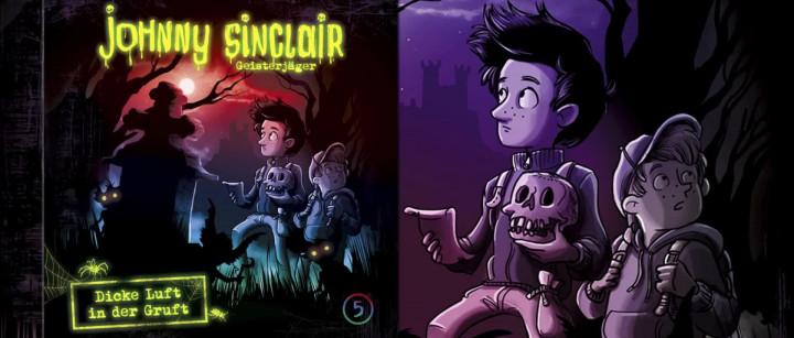 Johnny Sinclair: Dicke Luft in der Gruft - Teil 2 (Hörprobe)