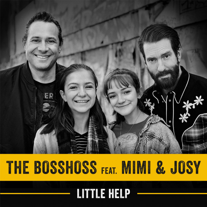 The BossHoss feat. Mimi & Josy - Little Help Cover